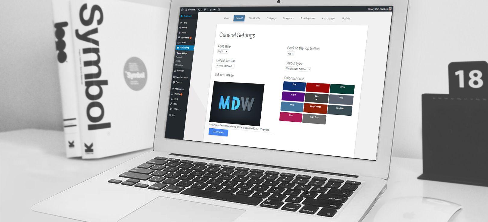 MDW WordPress Tutorial - Config General